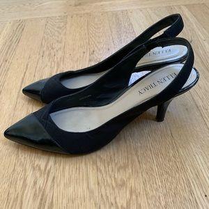 Ellen Tracy Shoes - Ellen Tracy black kitten heels pointed toe